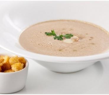 Грибной крем-суп с шоколадом
